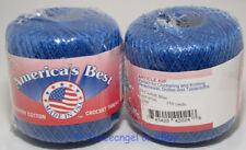 Americas Best Crochet Cotton Bedspread Thread Size 10 Casbah Blue 150 Yard Balls