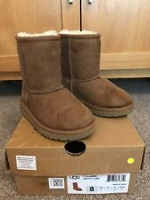 Ugg Boots Classic Chestnut Girls Size 7 Infant