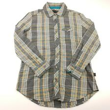 Vans Mens Casual Shirt XS EXTRA SMALL Flannel Long Sleeve Check