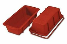 Silikomart Silicone Loaf Pan Large Size 260 X 100 H 70 Mm Terracotta