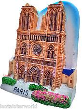Notre Dame de Paris French Cathedral Church France 3D Fridge Magnet Refrigerator