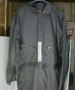 WALLS Master Made Gray Coveralls MEN 52 Regular Workwear Jumpsuit