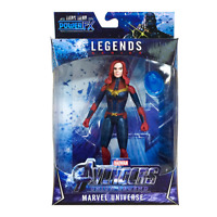 Marvel Legends Avengers Endgame Super Hero Captain Marvel Action Figure Toy LED