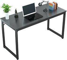 "Foxemart Computer Desk 47"" Modern Sturdy Office Desk PC, Home Work Station"