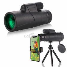 For iPhone Samsung 10X42 Zoom Optical Hd Camera Lens Monocular Telescope +Tripod