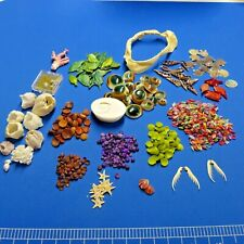 Craft Shells This & That Different Small Tiny Shell Coral Shark Jaw Starfish Lot