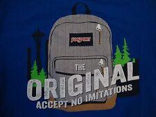 JanSport The Original Accept No Imitations Backpacks Journeys T Shirt Size M