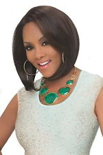 Vivica A. Fox Deeep Lace Front Darlene Wig Color 2 (Darkest Brown)