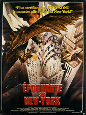 Affiche 120x160cm EPOUVANTE SUR NEW YORK /THE WINGED SERPENT 1982 Moriarty TBE