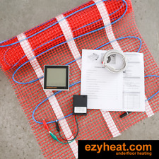 Floor Heating Kits DIY all sizes, electric undertile underfloor heating
