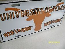 University of Texas Longhorns NCAA college football car / truck license plate #1