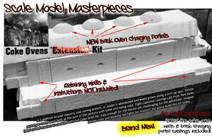 """Scale Model Masterpieces/Yorke Coke Ovens """"Extension"""" Kit O/1;48"""
