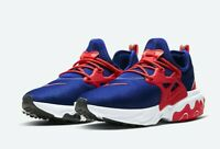 "Nike React Presto Blue Red White ""USA"" CW5586-400 Running Shoes Men's Multi Size"