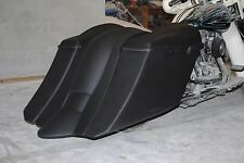 """6"""" DOWN 9"""" BACK STRETCHED EXTENDED BAGS AND FENDER  FOR TOURING BIKES 97-2008"""