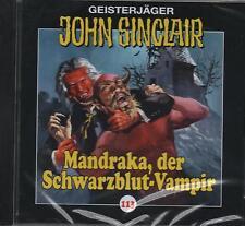 JOHN SINCLAIR - Teil 113 - Mandraka , der Schwarzblut-Vampir - AUDIO CD - NEU