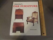 AMERICA'S OAK FURNITURE SOFT COVER: SCHIFFER, 1988