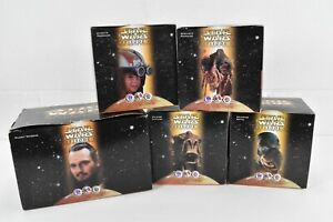 Lot of 5 Star Wars Episode 1 Figures KFC  Taco Bell Tatooine Naboo toys 1999
