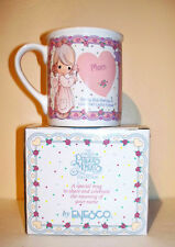 "Nib Vtg ©1994 Precious Moments Collection ""What'S In A Name"" Mug - Mom 134236"
