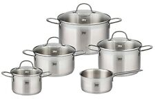 Stainless Steel Kitchen Induction Cookware Pots and Pans Set 9-Piece