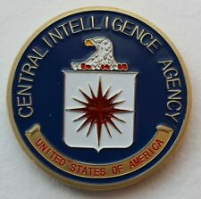 More details for us central intelligence agency, cia challenge coin.