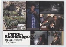 2013 Press Pass Parks and Recreation Seasons 1-4 #8 The Stakeout Card 2a1