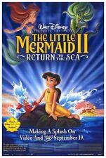 THE LITTLE MERMAID II: RETURN TO THE SEA Movie POSTER 27x40 Jodi Benson Samuel