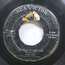 50'S & 60'S 45 Dylan Todd - The Ballad Of James Dean / More Precious Than Gold O
