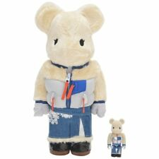 Sacai AW 2017 Medicom Bearbrick 400%100% Set Colette Paris Exclusive NEW