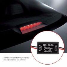 LED Flash Strobe Controller Box Flasher Module Brake Tail Stop Light Lamp 12V24V