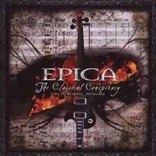 """Epica """"The Classical Conspiracy"""" 2 CD gothic metal nuovo"""