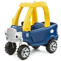 Little Tikes COZY TRUCK, Boys Toddler Styled Ride on Adventure Toy with Trunk