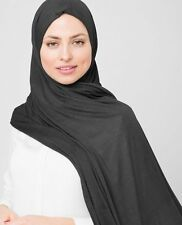 Ready to Wear Jersey Pullover Scarf Hijab High Quality Stretchy Cotton Shawl