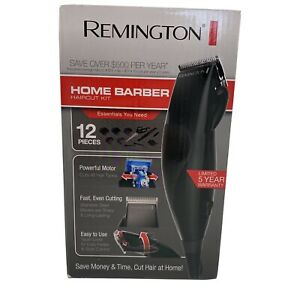 Remington HC60 Home Barber 12 Piece Haircut Kit Stainless Steel Blades New NIB