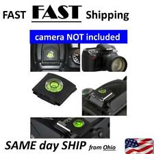 Flash Hot Shoe Cover Cap Bubble Spirit Level For Nikon Canon Olympus Camera