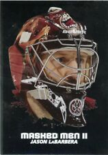 09/10 BETWEEN THE PIPES MASKED MEN II MASK SILVER #MM-43 JASON LABARBERA *44378