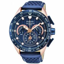 Pulsar Gents Leather Strap Watch - PU2082X1 NEW