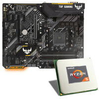 Bundle CPU Mainboard Kombination, ASUS TUF B450-PLUS Gaming,  AMD Ryzen 5 2600X