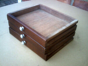 Union Wooden Engineers Cabinet,Toolbox  Draw + top box Model 3 SPARE DRAWS ONLY