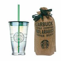 Starbucks Korea Aurora Glass Coldcup 473ml 2019 Autumn