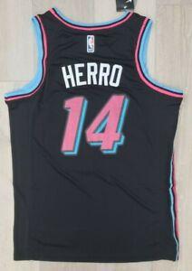 Limited Rare New NWT Tyler Herro Men's Jersey Miami BLACK Swingman # 14