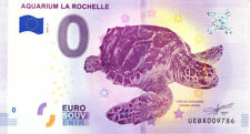 17 LA ROCHELLE Aquarium, Tortue, 2018, Billet 0 € Souvenir