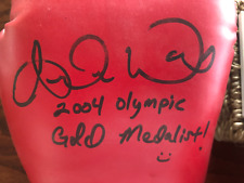 VERY RARE ANDRE WARD  SIGNED  INSCRIBED  BOXING GLOVE