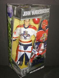 1998 PLAYMATES NHL PRO ZONE JOHN VANBIESBROUCK COLLECTORS SERIES FLORIDA