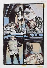 Kent Williams Original Artwork for Destiny Graphic Novel