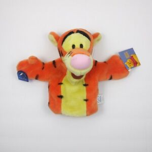 Applause Tigger Plush Hand Puppet Winnie the Pooh Vintage Stuffed Animal