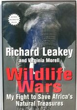 WILDLIFE WARS Leakey Africa Animals African Kenya Elephant Ivory Poacher PROOF