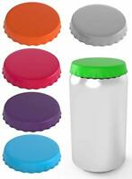Silicone Soda Can Lids 6 pack fits standard coke cans Perfect for the beach