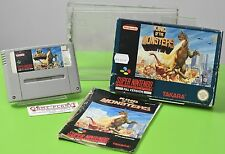 King of the Monsters Super Nintendo SNES OVP Sammlung