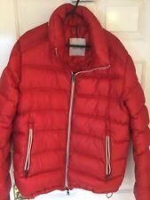 Moncler Men's Jacket Size 3 Red.