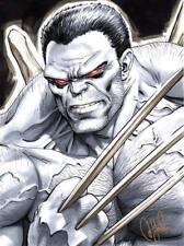 David Yardin 9x12 Art Sketch - Weapon H (Hulk 22)